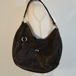 Ellington Brown Leather Satchel Bag